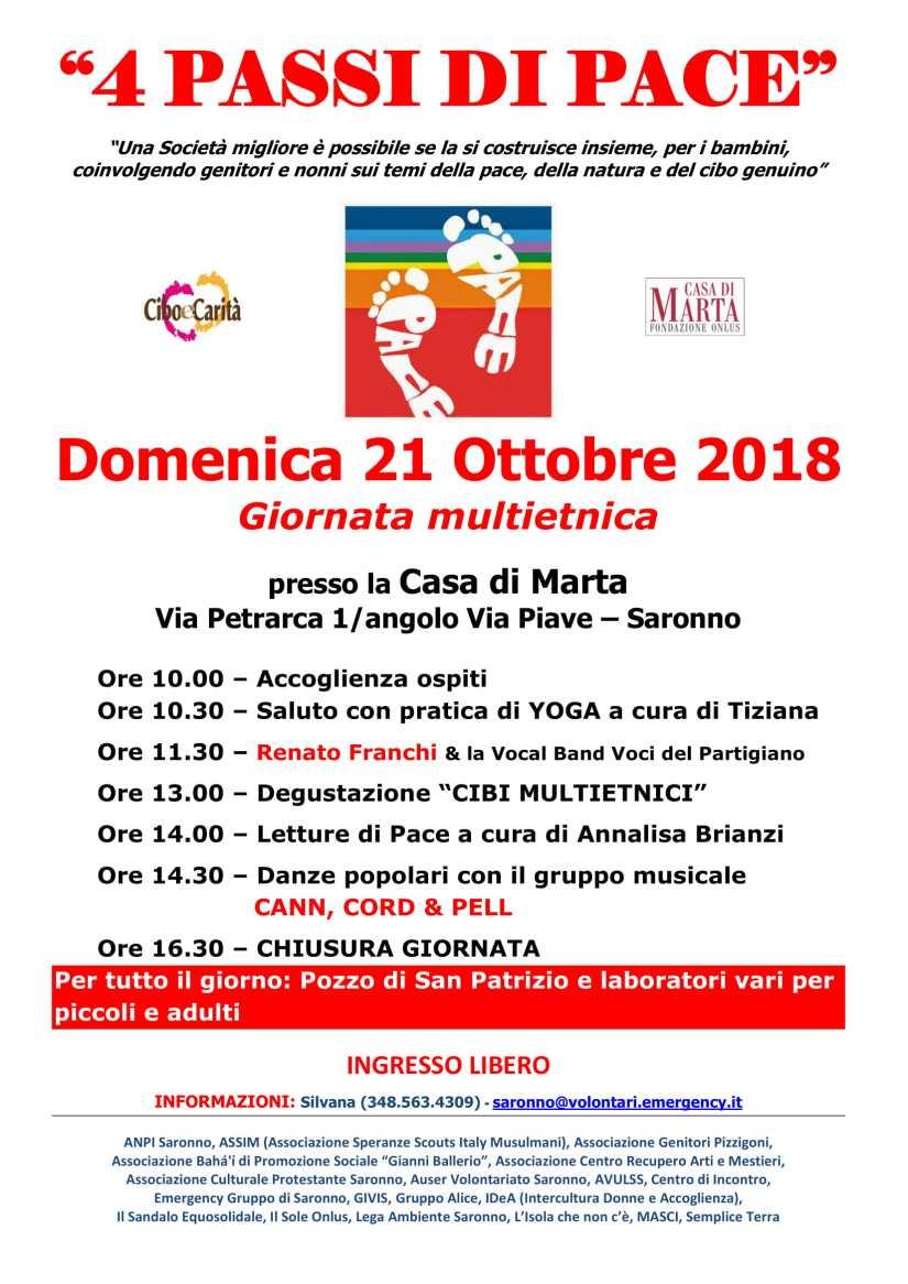 Locandina 4PASSIDIPACE - 21 Ottobre 2018-1